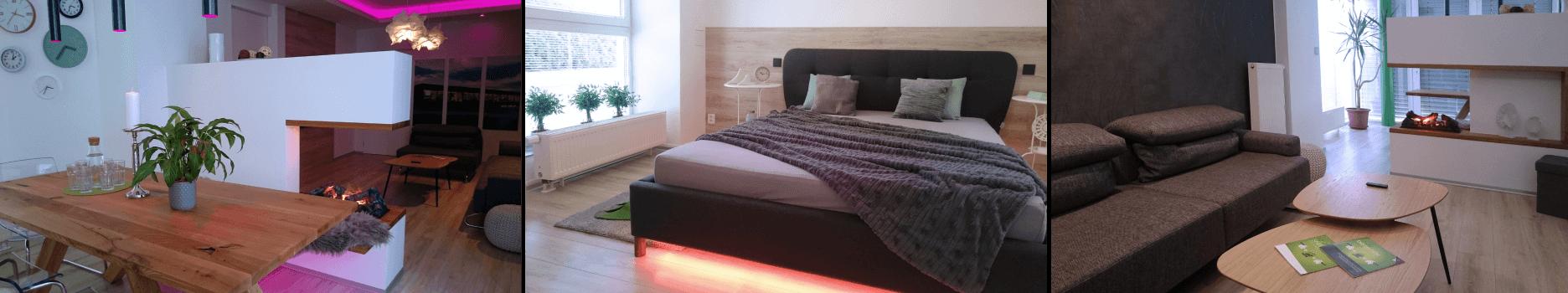 ukázky designového bydlení