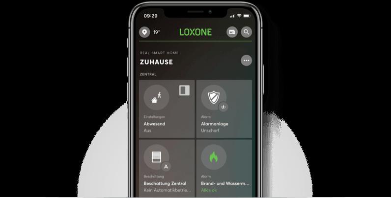 Aplikace zobrazená na iphone