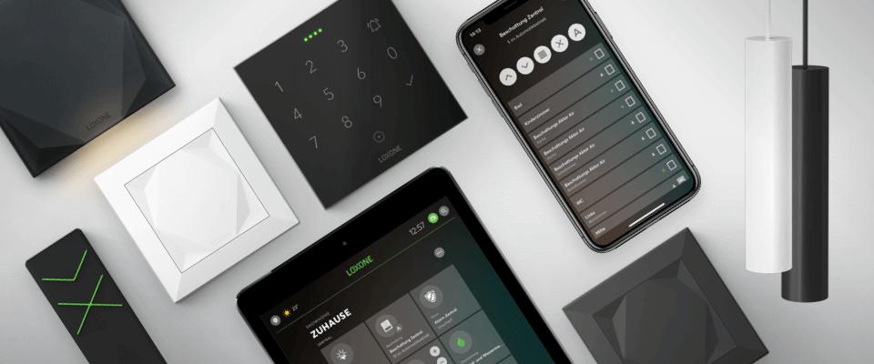 Produkty Loxone pro inteligentní přístupový systém