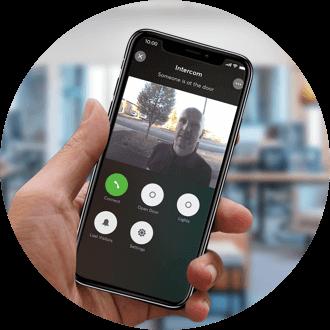 Video z intercomu v mobilní aplikaci