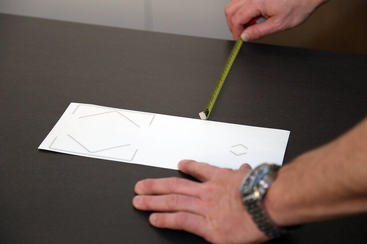 Kapazitiver Sensor im Einsatz - Küche