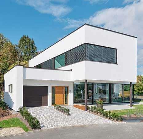 Montovaný chytrý dům