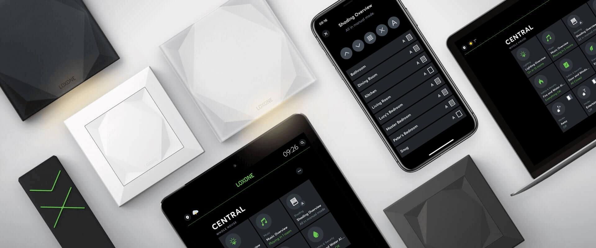 Produkty pro automatizaci stínění