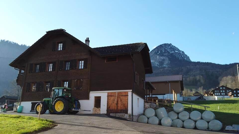 Farma Zumstein Hof v Obwaldenu ve Švýcarsku
