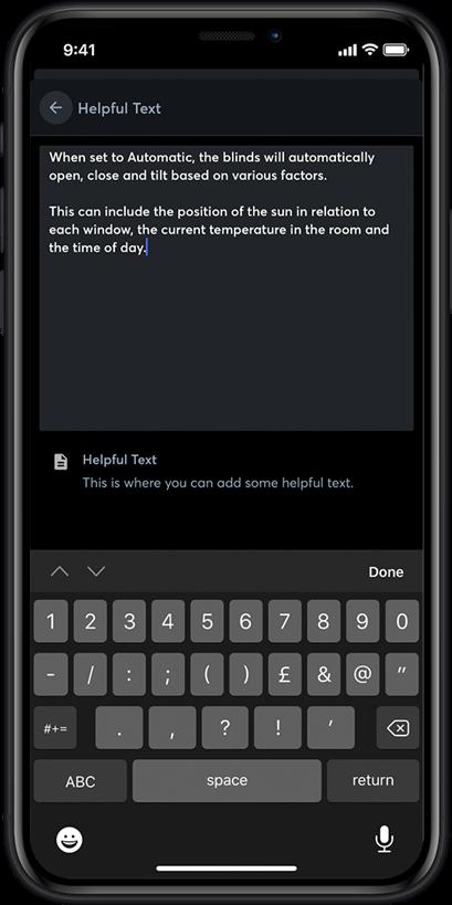Loxone App nápověda
