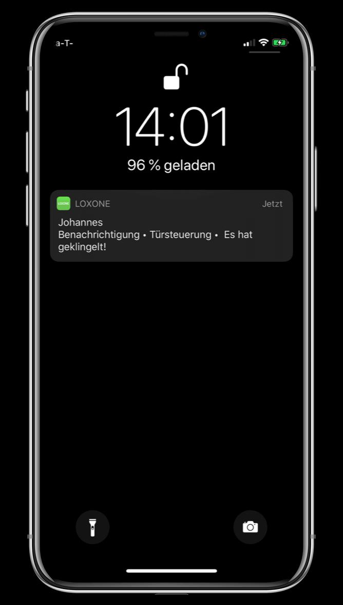 Push notifikace v Loxone aplikaci