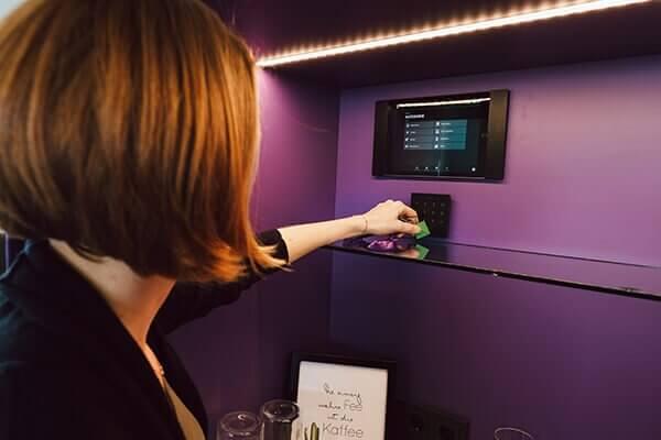 Mobilní aplikace Loxone v tabletu