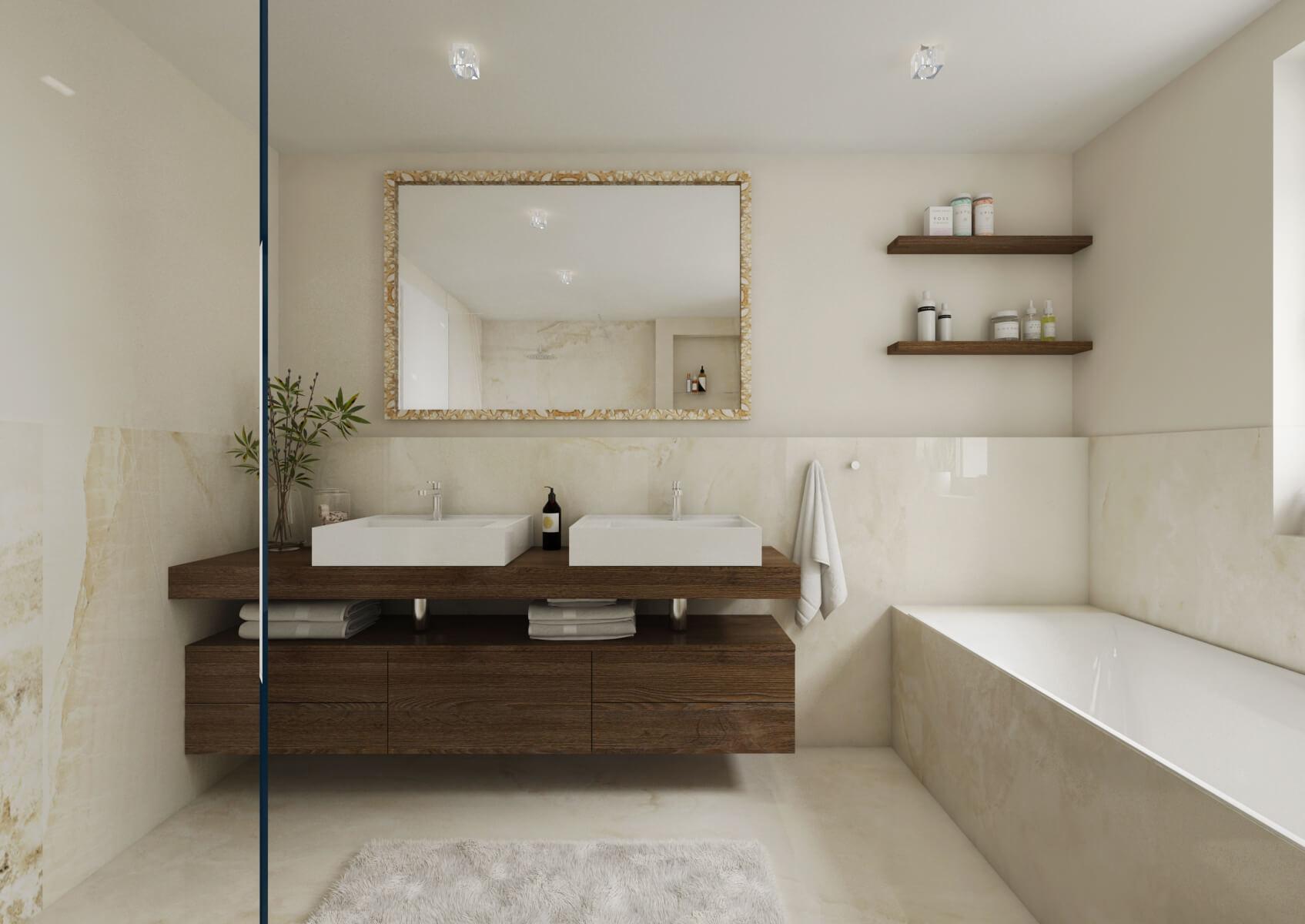Viladům Děvín - koupelna