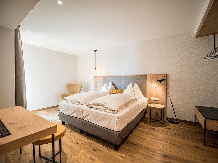 Ukázka pokoje v rezidenci Alpenrose