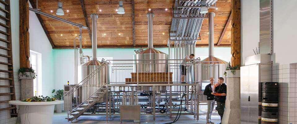 Pivovar ovládaný pomocí technologii Loxone