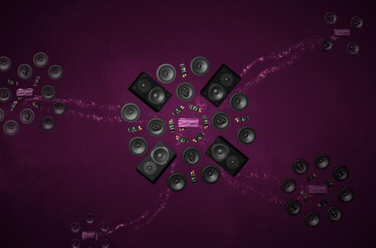 audio produkty od loxone