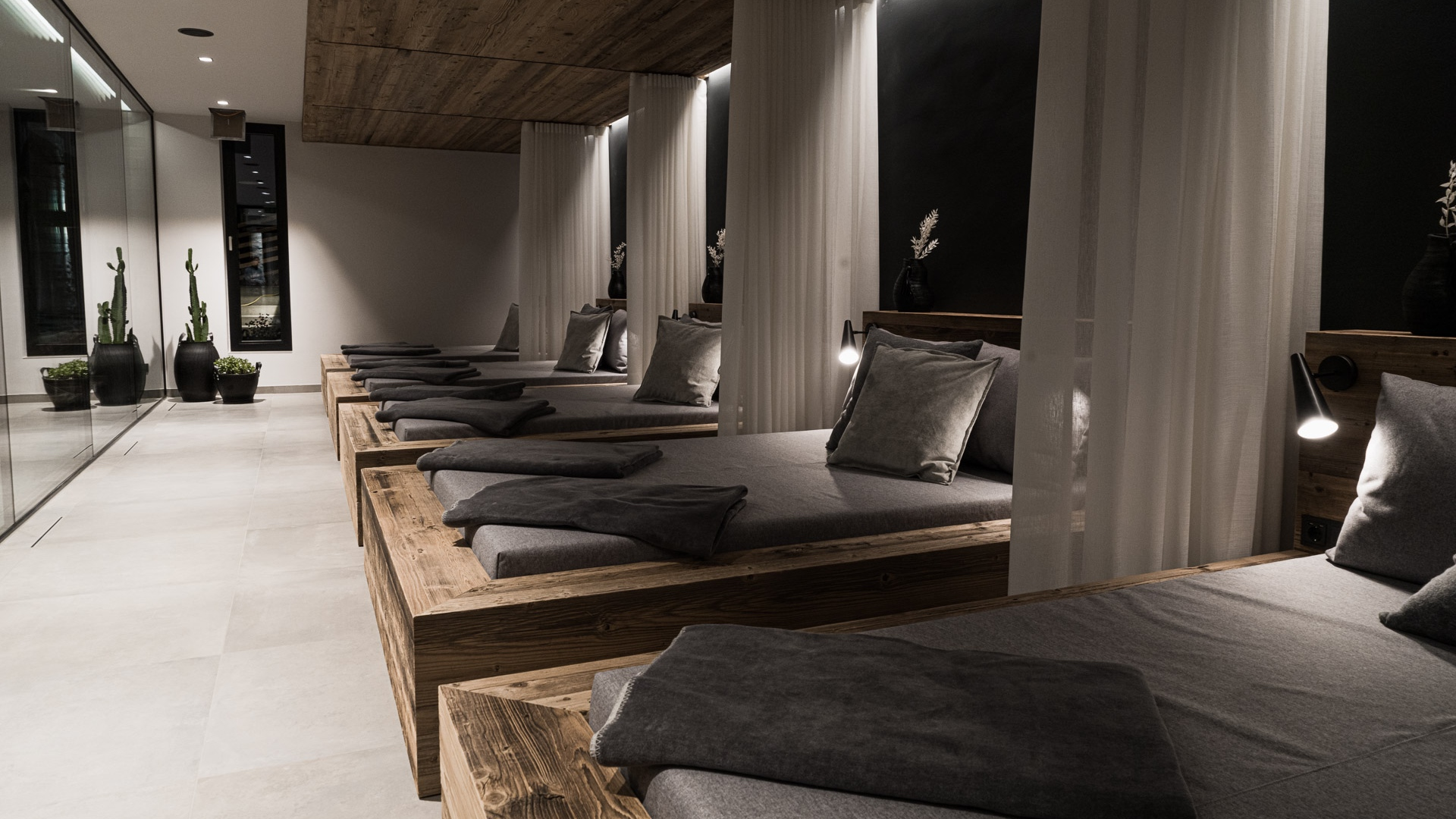 Chytrý hotel Sonnhof - Relaxační zóna