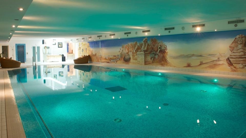 Bazén v hotelu Julen
