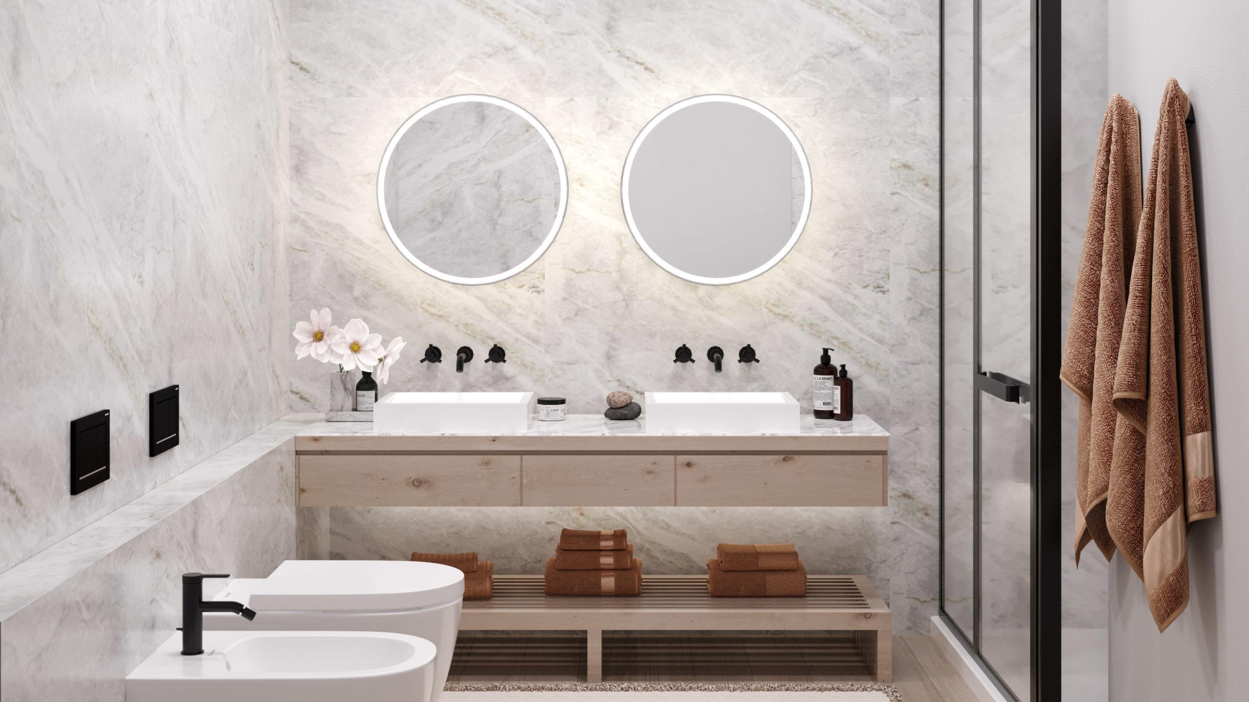 Stylová koupelna