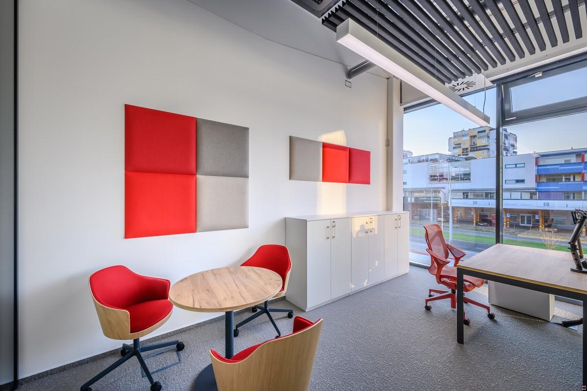 Pracovní prostor pro konzultace