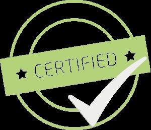 Certifikováno