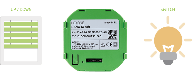 Integrace Nano IO Air
