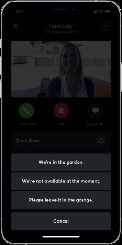 Text to speech zprávy v aplikaci
