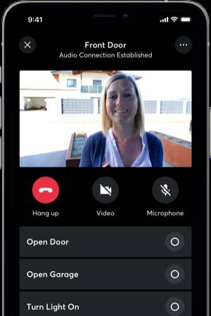 Komunikace s návštěvou v aplikaci
