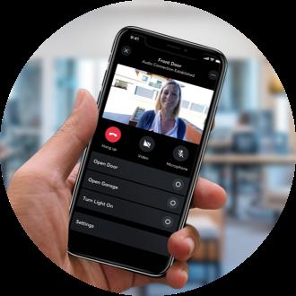 Videofeed z Intercomu