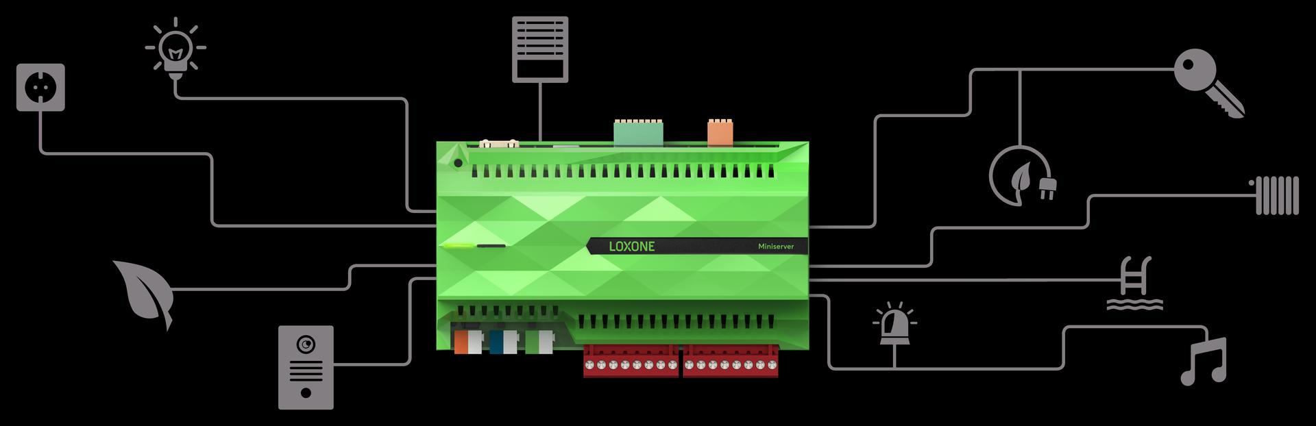 Systém postavený na Miniserveru