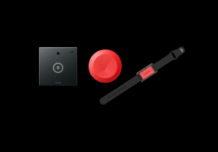 Intercom, Button Air a Wrist button Air