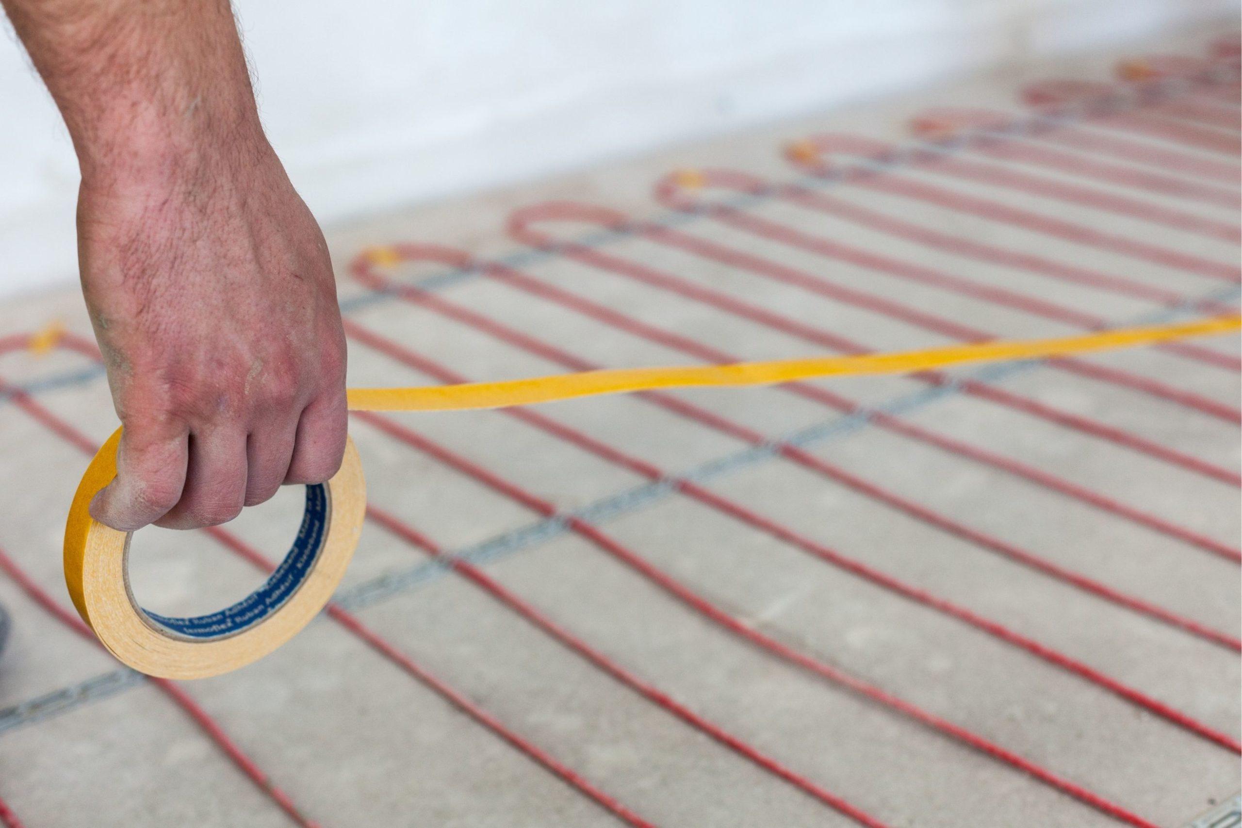 Instalace topných kabelů