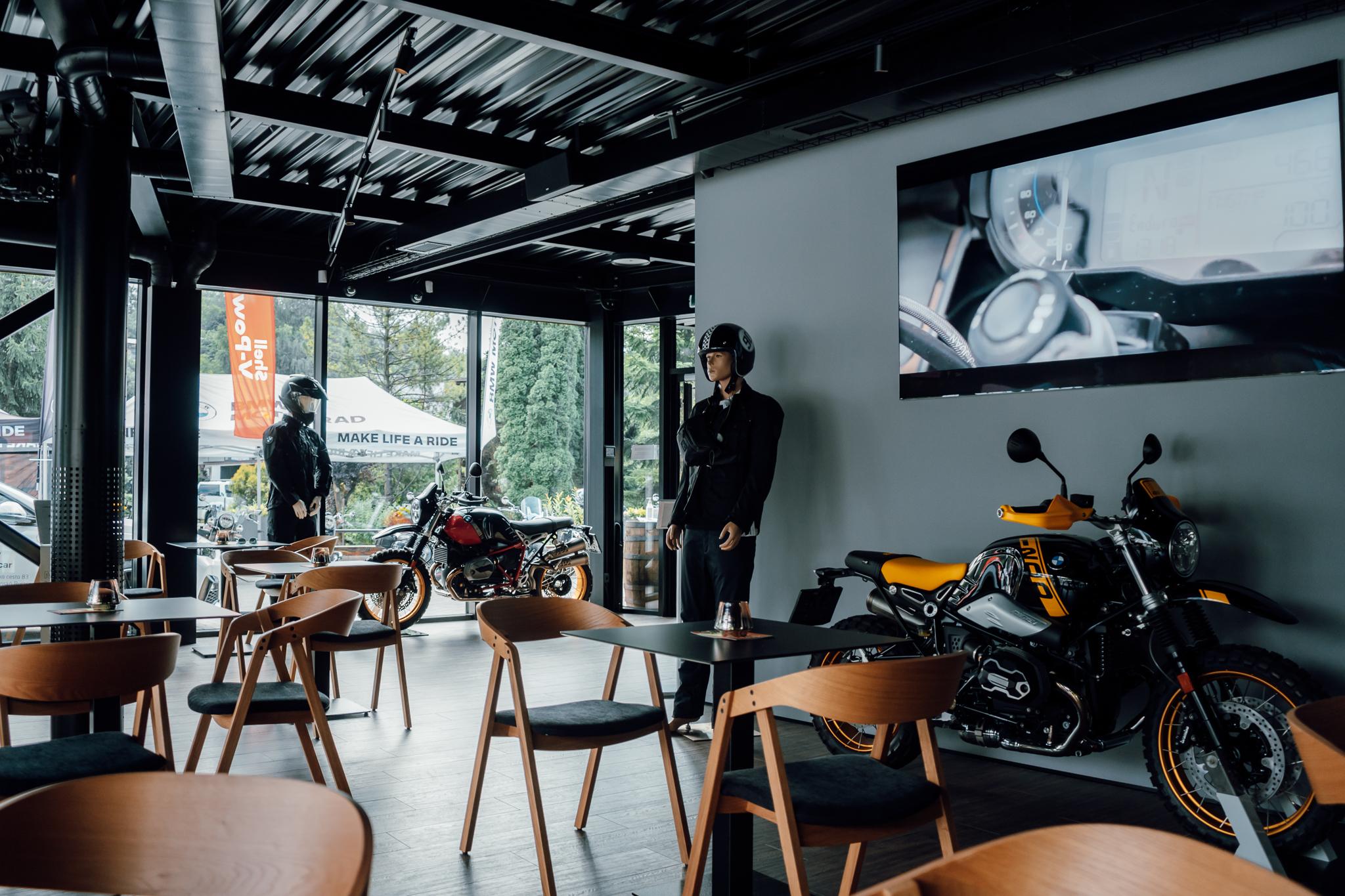 Prostory kavárny