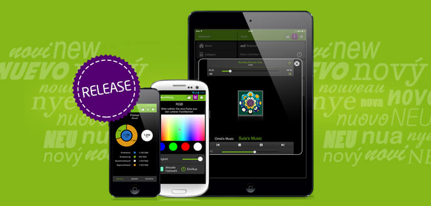 das smart home app update f r iphone ipad android. Black Bedroom Furniture Sets. Home Design Ideas