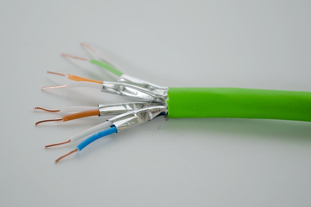 Cat 7 Kabel für das Smart Home - Detailansicht