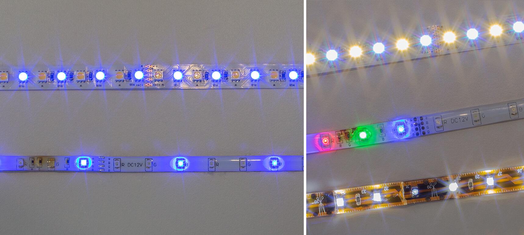 LED-Testaufbau_collage