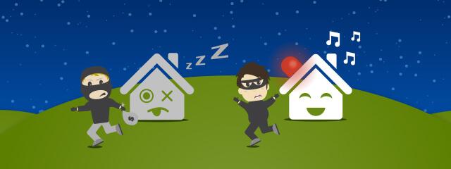 6 smart home alarmfunktionen als einbruchschutz. Black Bedroom Furniture Sets. Home Design Ideas