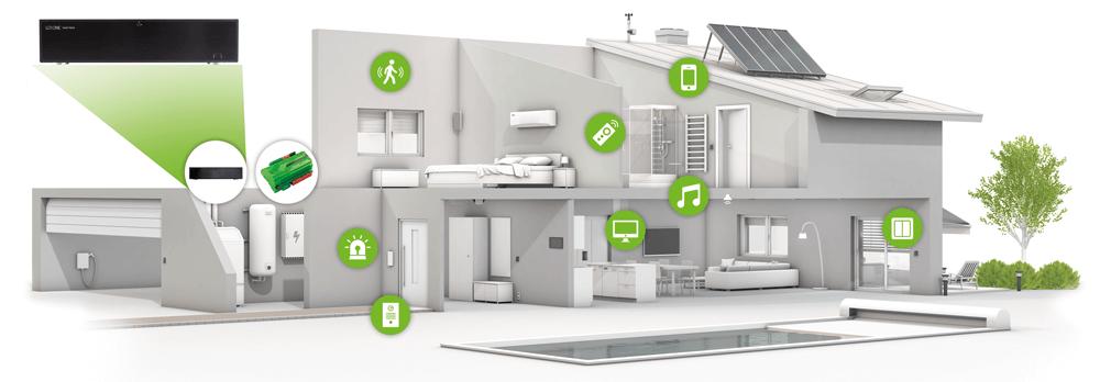Loxone Music Server 100% ins Smart Home integriert