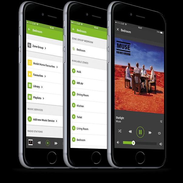 Loxone Music Server App