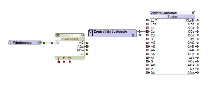 Programmierung-Jalousie
