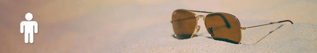 Image Sonnenbrille - mit einem Klick begibt sich die gesamte Haussteuerung in den Urlaubsmodus
