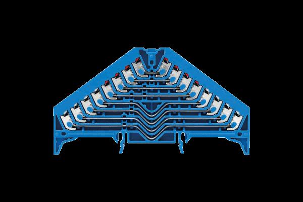 8-fach Etagen-Rangierklemme - ideale Reihenklemmen für Taster & Sensorik