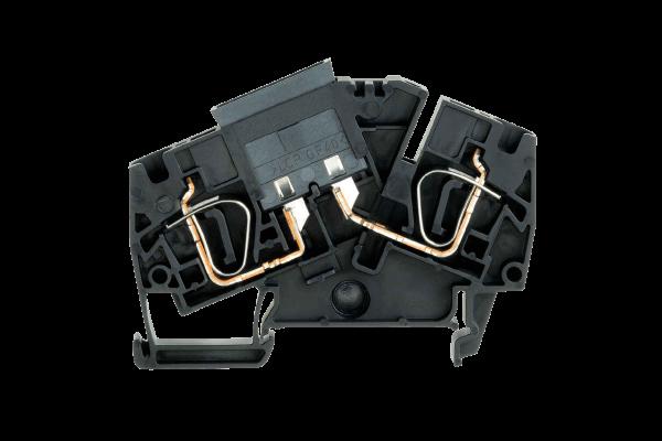 Sicherungs-Reihenklemme zur Absicherung von Leitungen