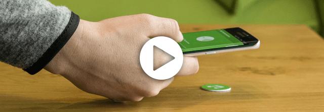 Loxone NFC Smart Tags einlernen