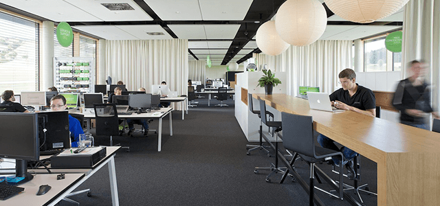 Großraumbüro neu gedacht