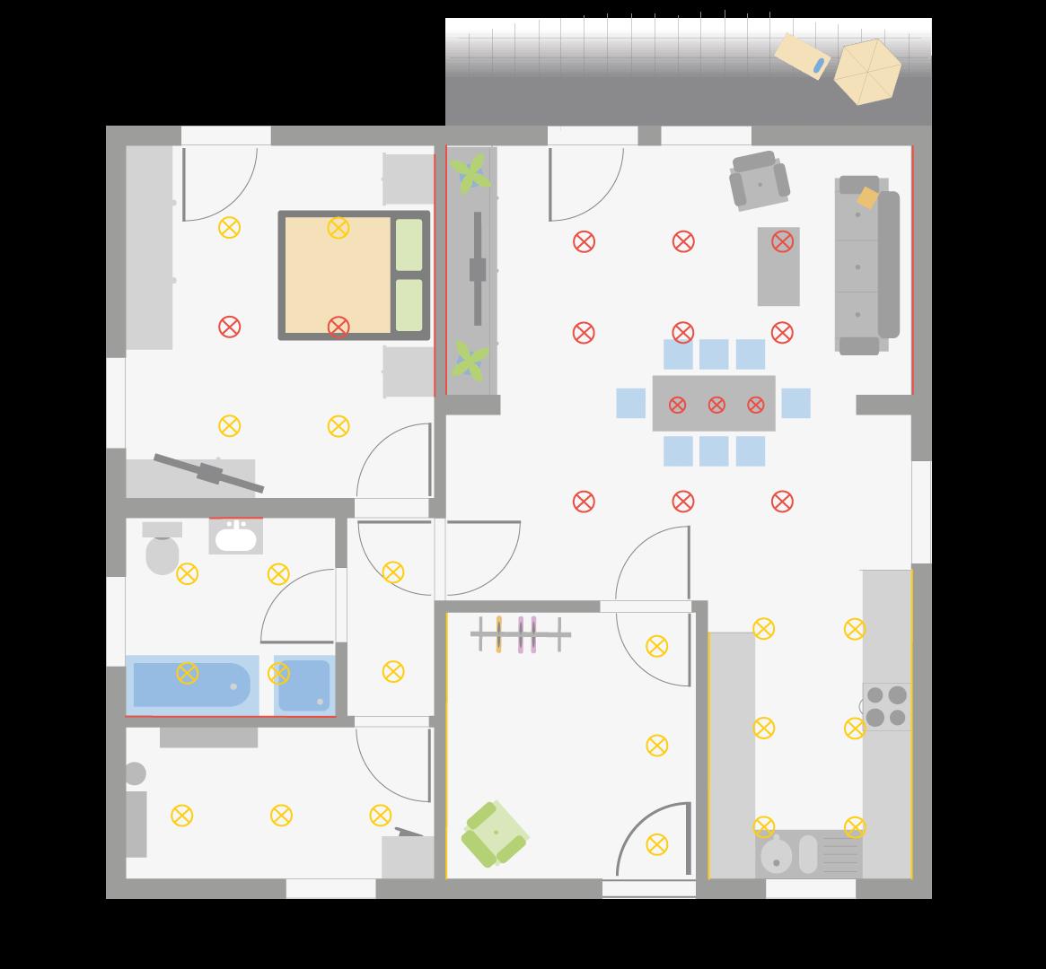 video blog einsatz von led spots loxone blog. Black Bedroom Furniture Sets. Home Design Ideas