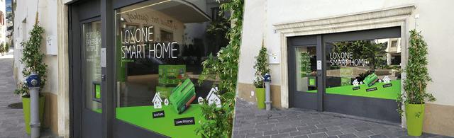 Loxone Showroom Italy - Außenansicht