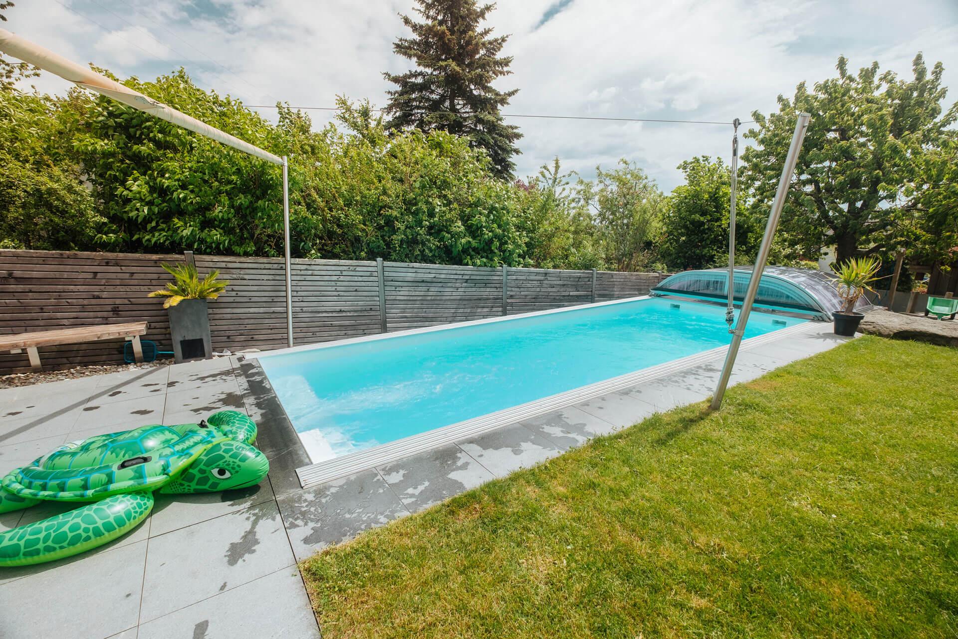 Wasserpflege im Pool mit Loxone & Peraqua in der Praxis