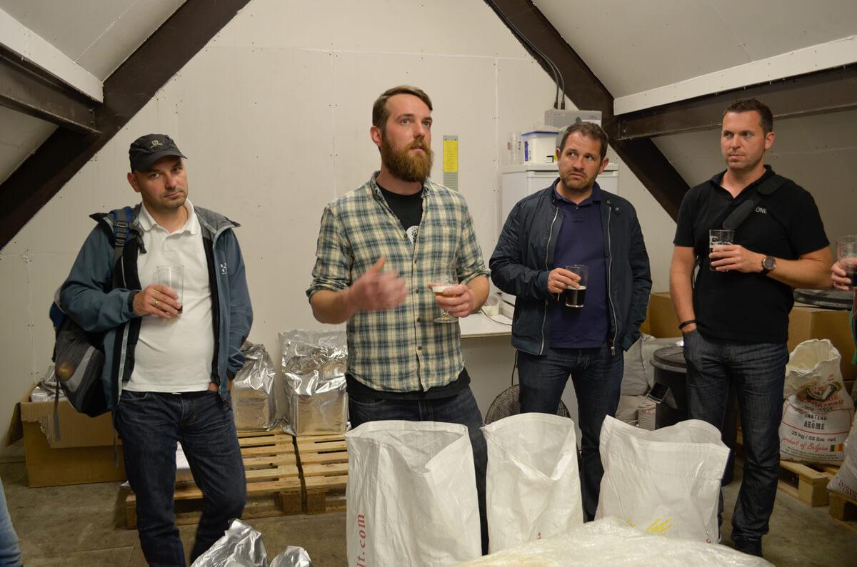 Loxone Betriebsausflug Brauereibesichtigung