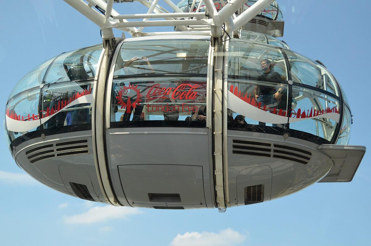 Loxone Betriebsausflug London Eye
