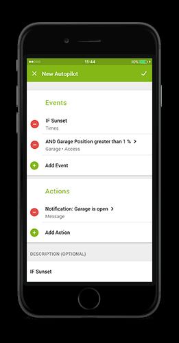 Loxone App 7 - Generátor autopilota