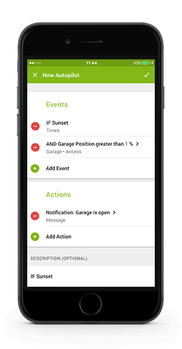 Loxone Smart Home App 7 - Editeur Autopilote