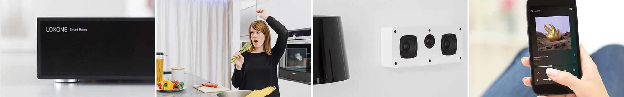 Collage - Multiroom Audio & Multimedia im Smart Home