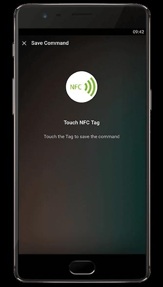 NFC Tags - Einlernen über die Loxone App