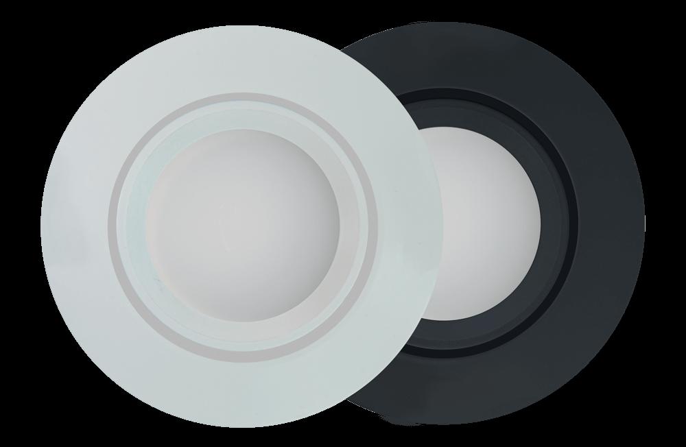 Loxone LED Spot RGBW 24V - Weiss und Anthrazit